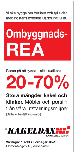 Kakeldax Örebro Ombyggnads REA