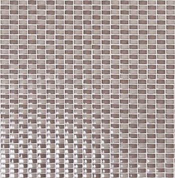 Hoppe GPO-62 brown beige mix convex Glass Mosaic