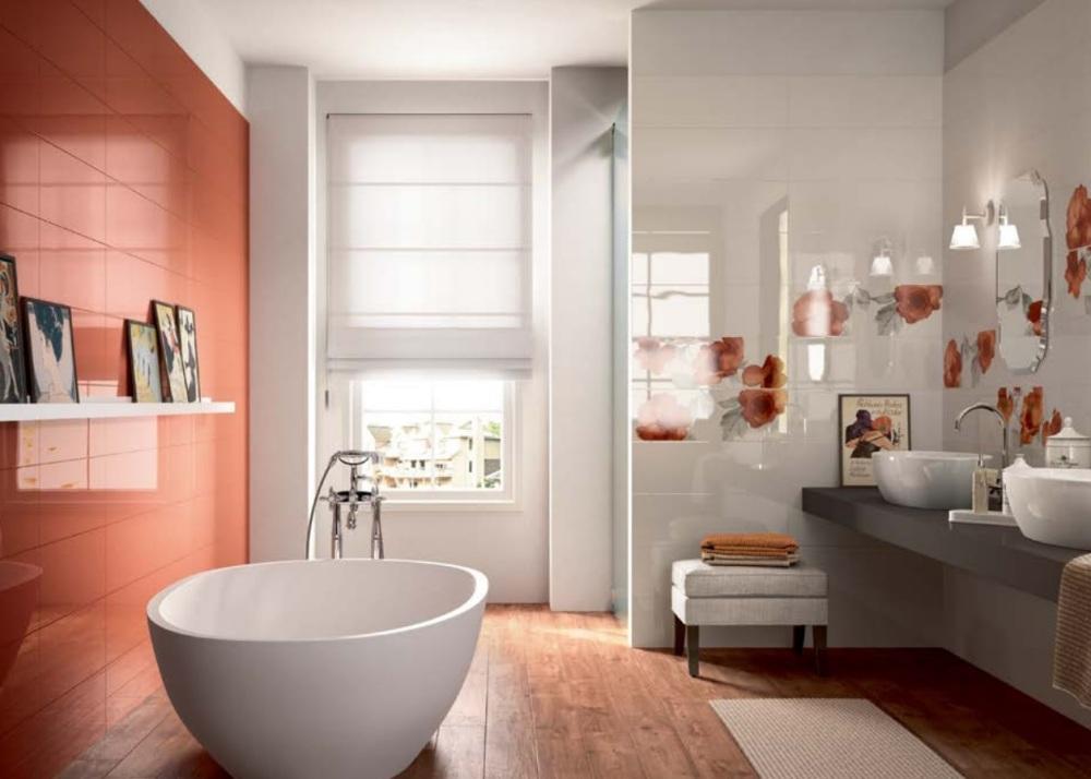 Marazzi Colourline Orange MLE3_miljö
