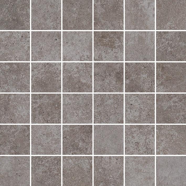 Produktbild på mörkgrå mosaik ur serien Centra district.